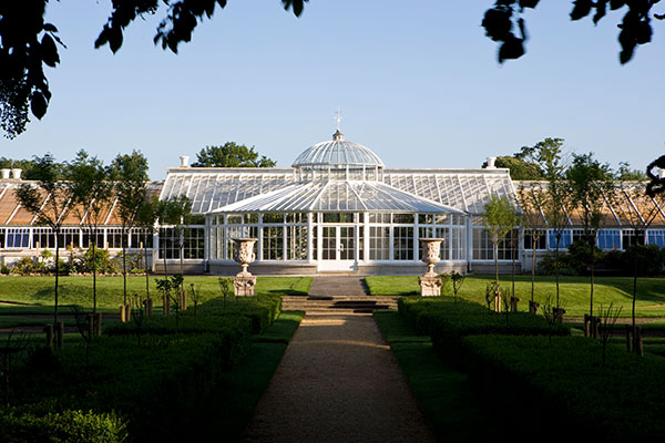 Conservatory at Chiswick House Gardens