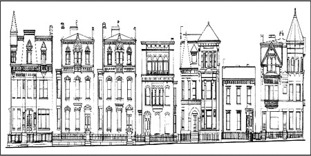 Southern homes and gardens house plans unique house plans for Victorian row house plans