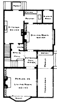 cottage house plan