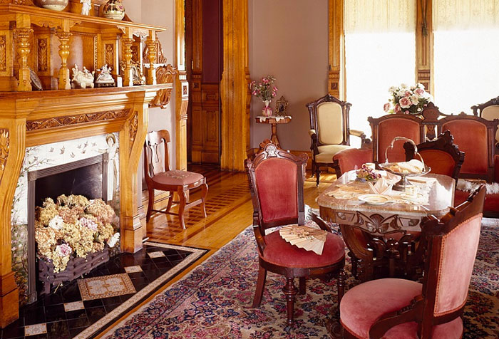 Victorian Mansion Living Room