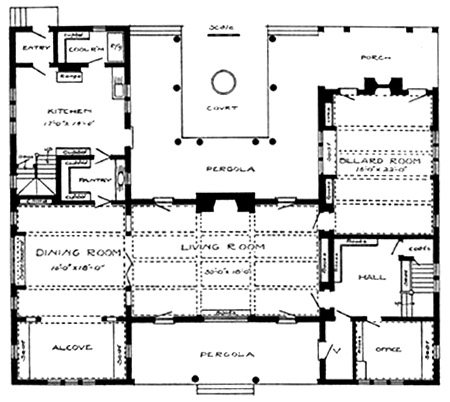1950s Craftsman House Plans Home Design And Style